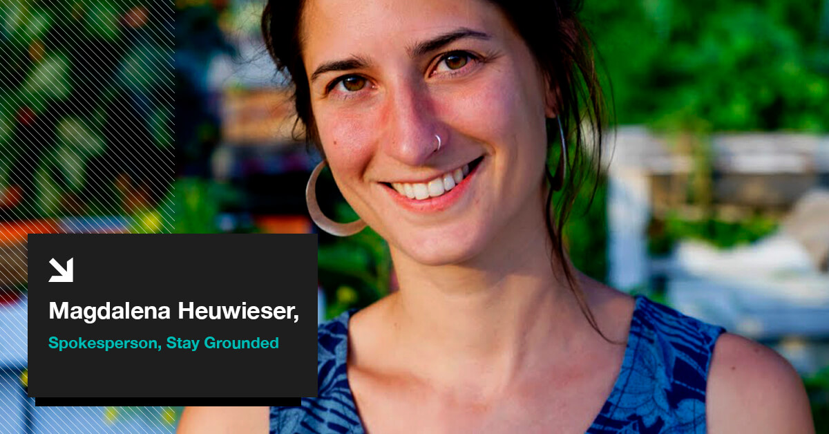 Magdalena Heuwieser Spokesperson, Stay Grounded