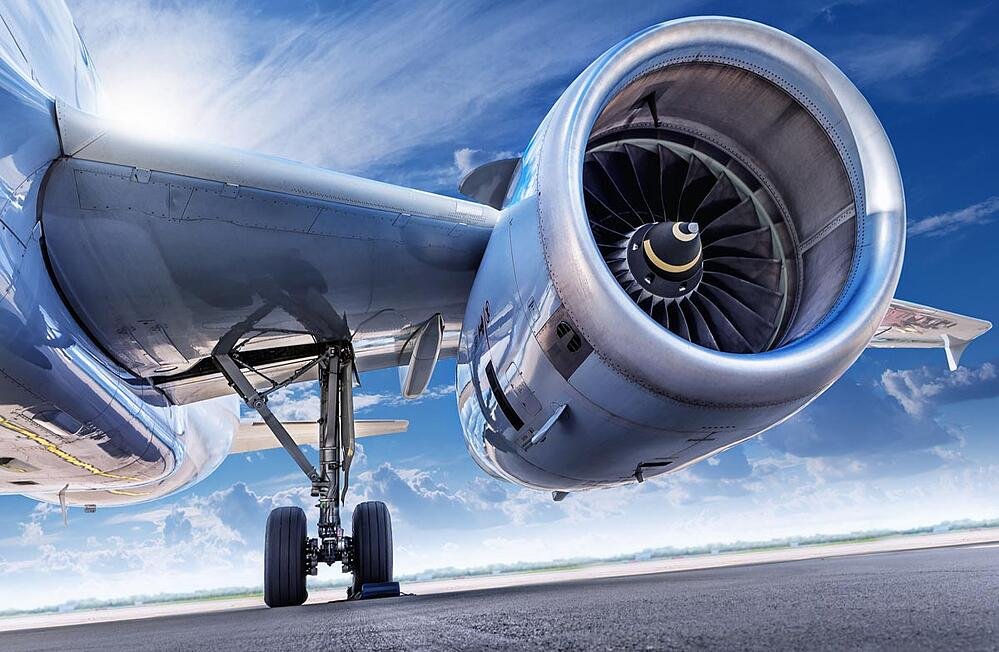 Aircraft-checked-to-avoid-unexpected-aviation-supply-chain-challenges