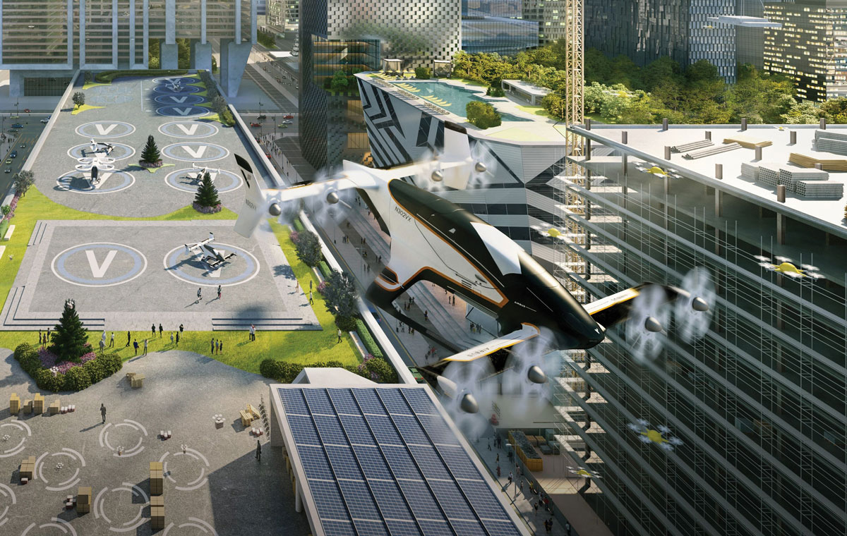 Urban air mobility: Creating a city of passenger drones and air taxis