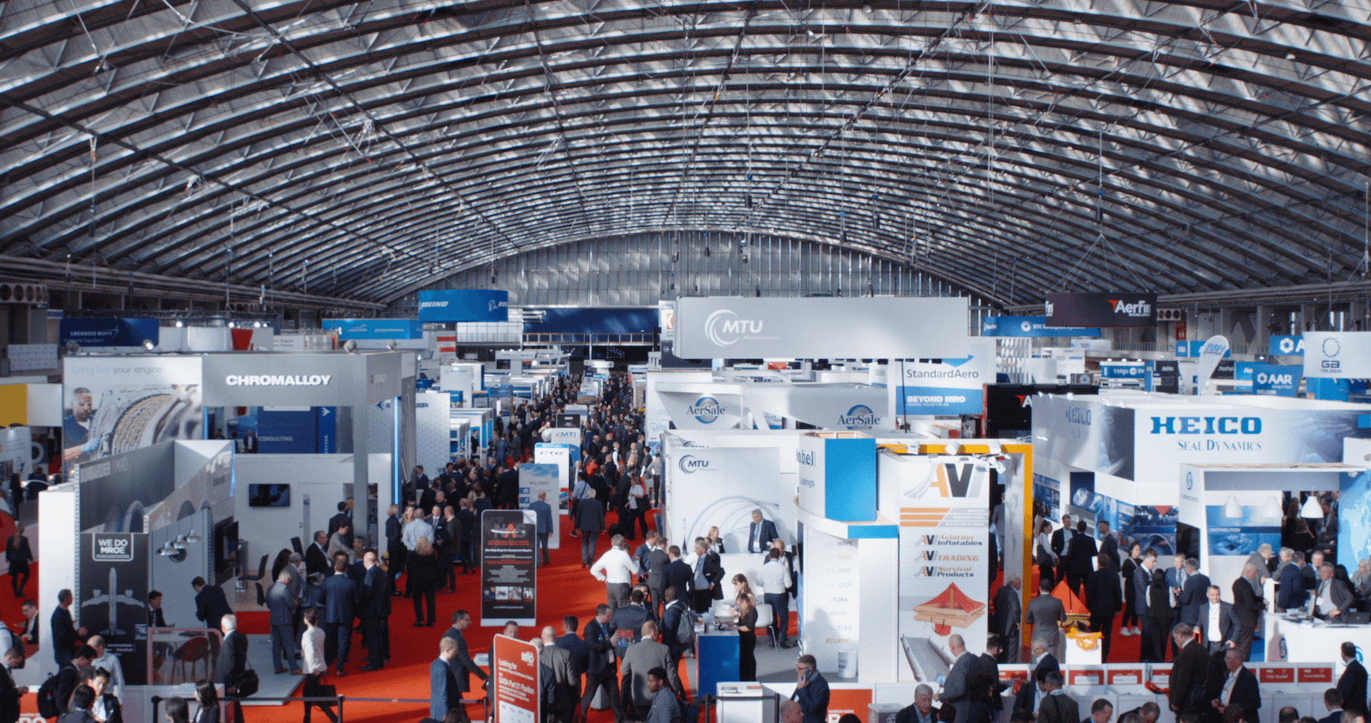 Four key themes raised at MRO Europe 2018